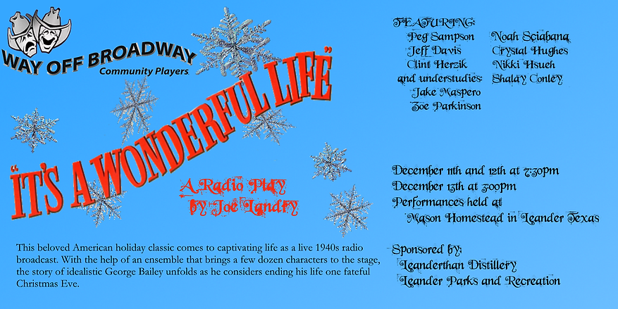 Its a Wonderful Life Marketing 2020-11-1