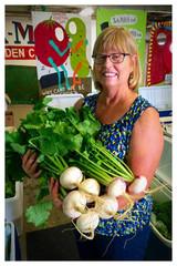 Cherokee Creek Alicia with Turnips