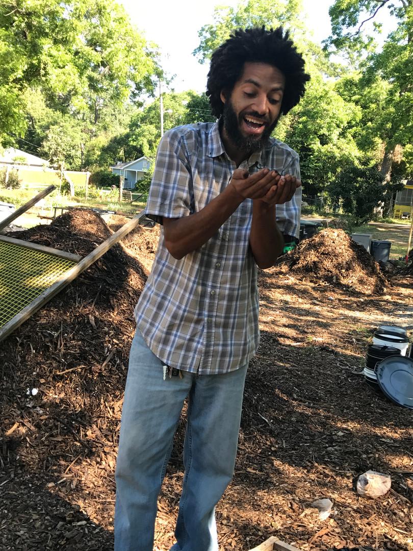 Sundiata LOVES Compost!