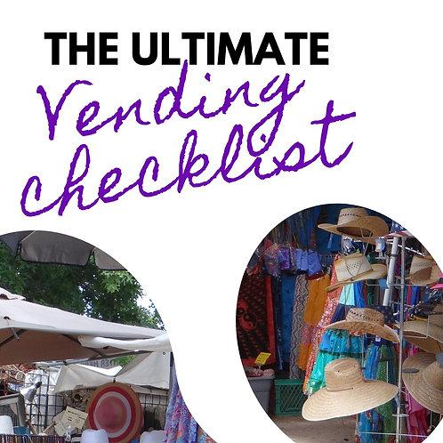 The Ultimate Vendor Checklist
