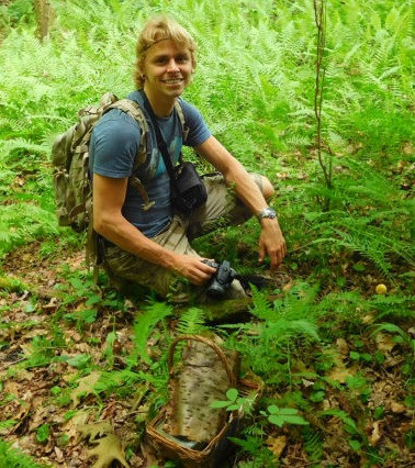 "Adam Haritan of ""Learn Your Land"" to  lead walks at the WV Mushroom Foray"