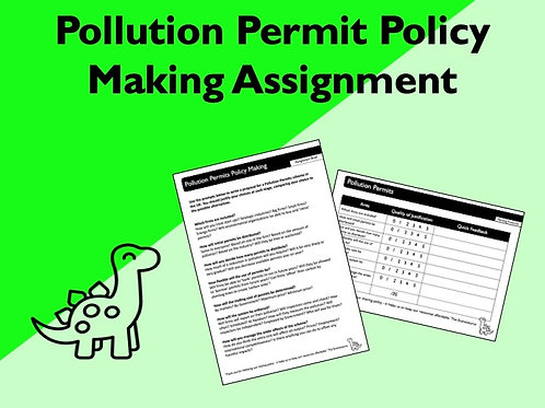 Pollution Permits Policy Making