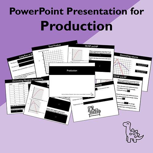 Production Slides