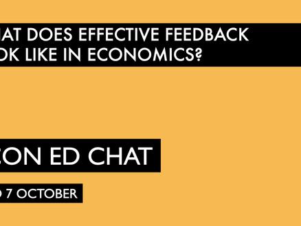 Effective Feedback in Economics