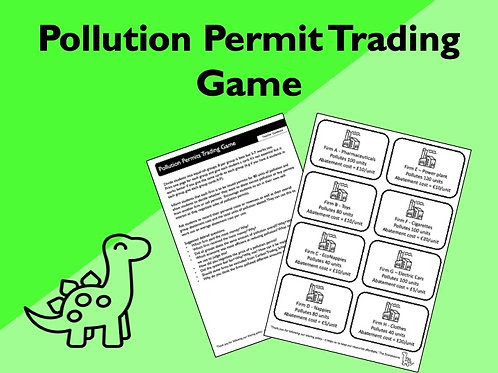 Pollution Permits Trading Game