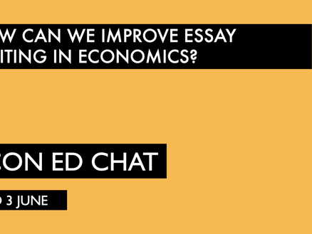 Improving Essay Writing in Economics
