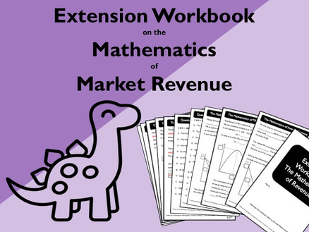 New Product: Extension Workbook on Market Revenue