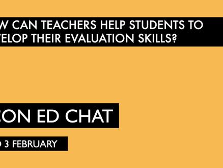 Developing Students' Evaluation Skills