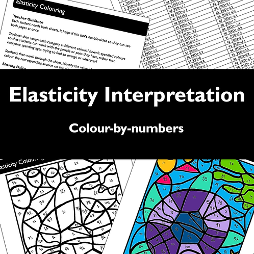 Elasticity Colour-by-numbers