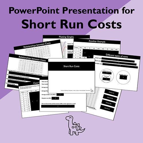 Short Run Costs Slides