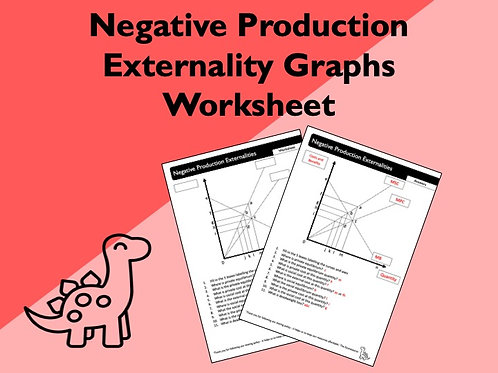 Negative Production Externalities Worksheet