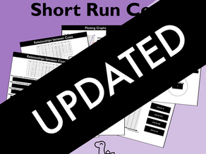 Updated: Short Run Costs Slides