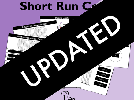 Updated: Short Run Costs Slides