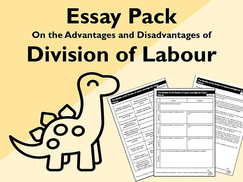 Division of Labour Essay Pack