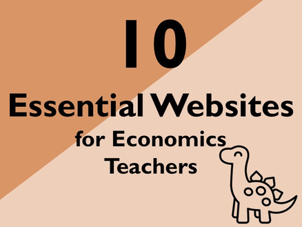 10 Essential Websites for Economics teachers