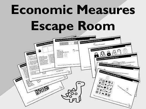 Economic Measures Escape Room