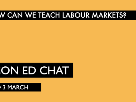 Teaching Labour Markets