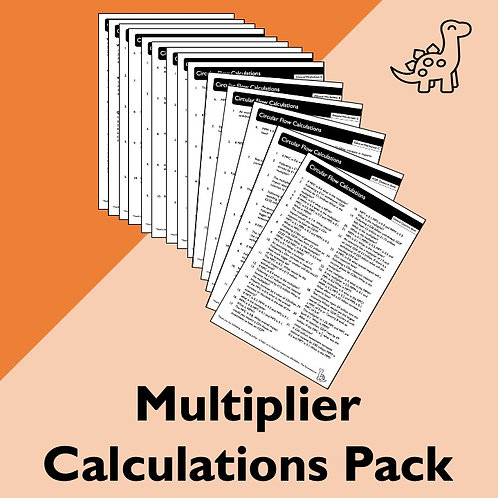 Multiplier Calculations Pack