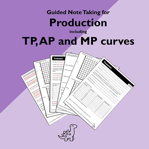 Production Guided Note Taking