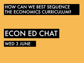 How can we structure the Economics Curriculum?
