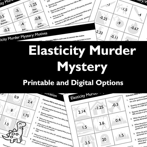 Elasticity Murder Mystery
