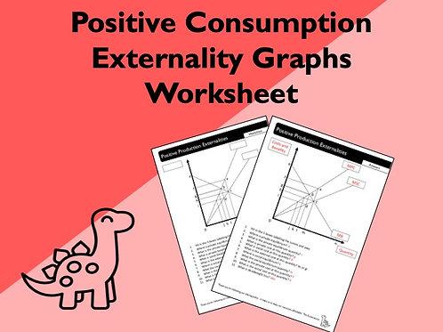Positive Production Externalities Worksheet
