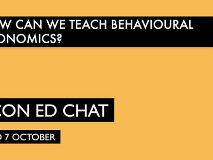 Teaching Behavioural Economics