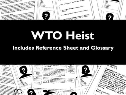 WTO Heist