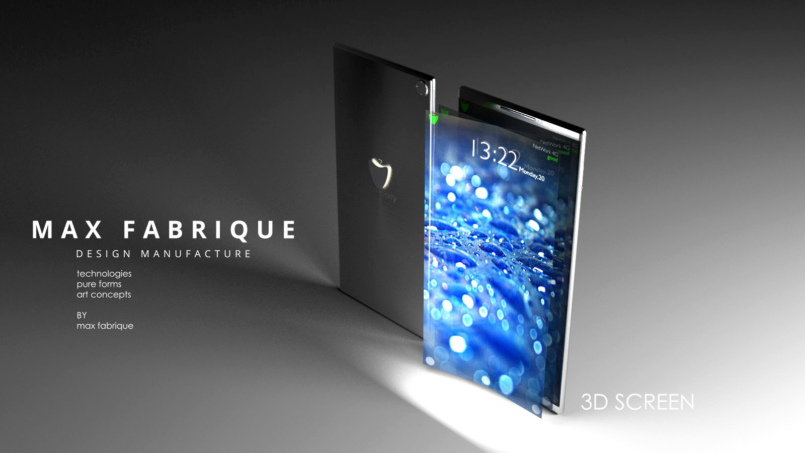 Smartphone with 3D screen