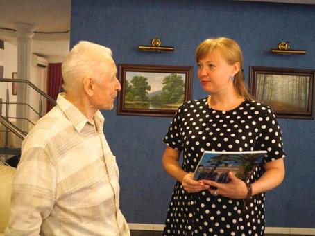 Министр культуры края Виктория Лапина встретилась с народным артистом СССР Юрием Григоровичем