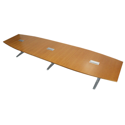 HON Boat-Shaped Conference Table