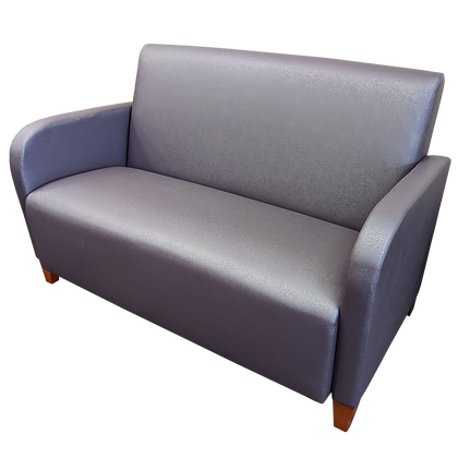 Lesro Purple Two-Seat Couch