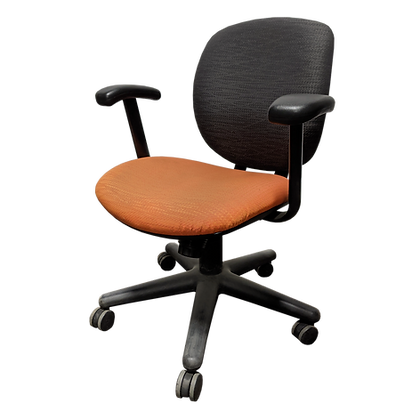 Steelcase Criterion Task Chair Orange/Gray