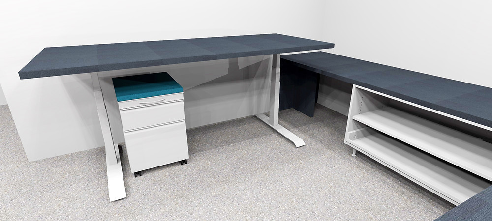 Adjustable Height Desk by Office Furnishing Solutions