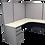 Thumbnail: Steelcase 9000 U-Workstation with Wardrobe