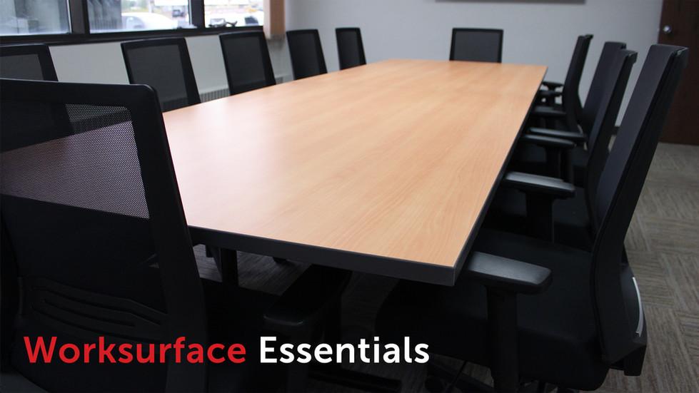 Banner Image 3 - Worksurface Essentials.