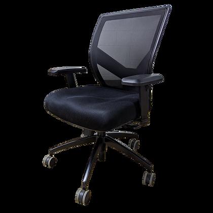Reupholstered Mesh Back Task Chair