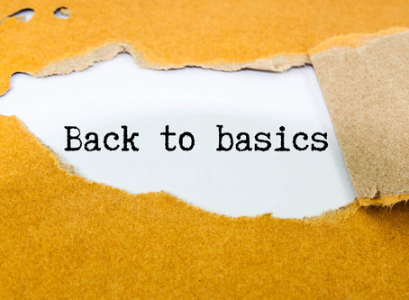 Let's go back to basics, SBMs