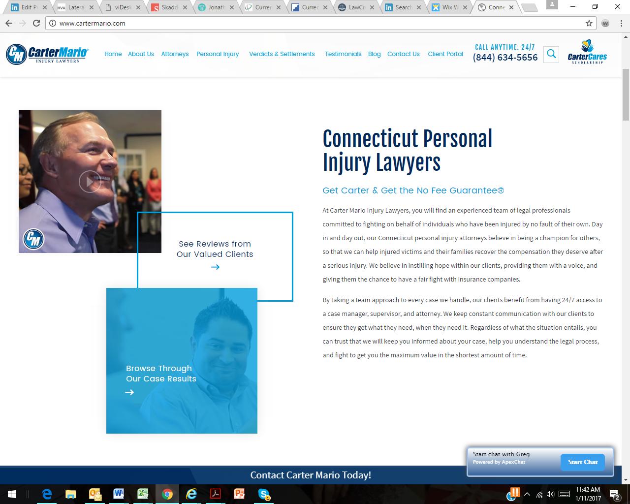 Carter Mario Injury Lawyers