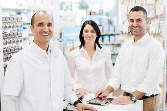 Three pharmacists