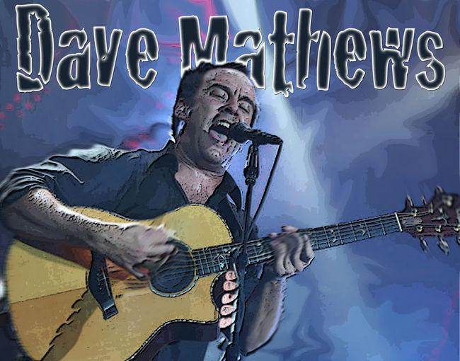 Dave Mathews Tribute Art