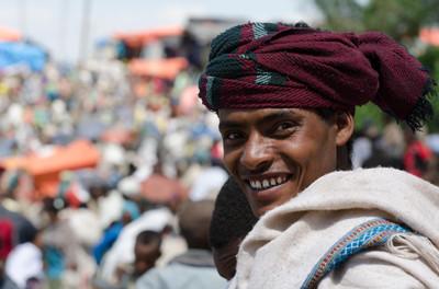 The market, Lalibela, Ethiopia