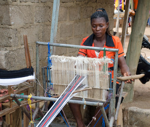 Weaving on the streets