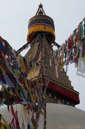 Prayer flags Bodenath
