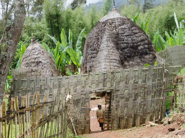 Traditional Dorze home