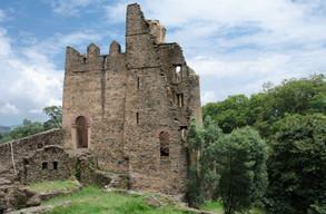 Part of the Palace complex Gondar
