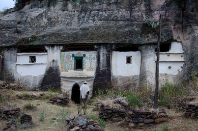 One of the mountain churches in tigray
