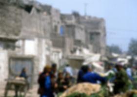 Kashgar street scene 1986