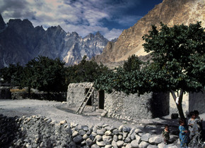 Village in the Hunza Valley
