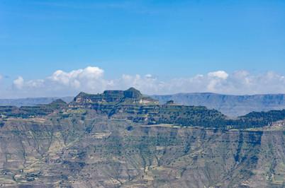 Mountains outside Lalibela